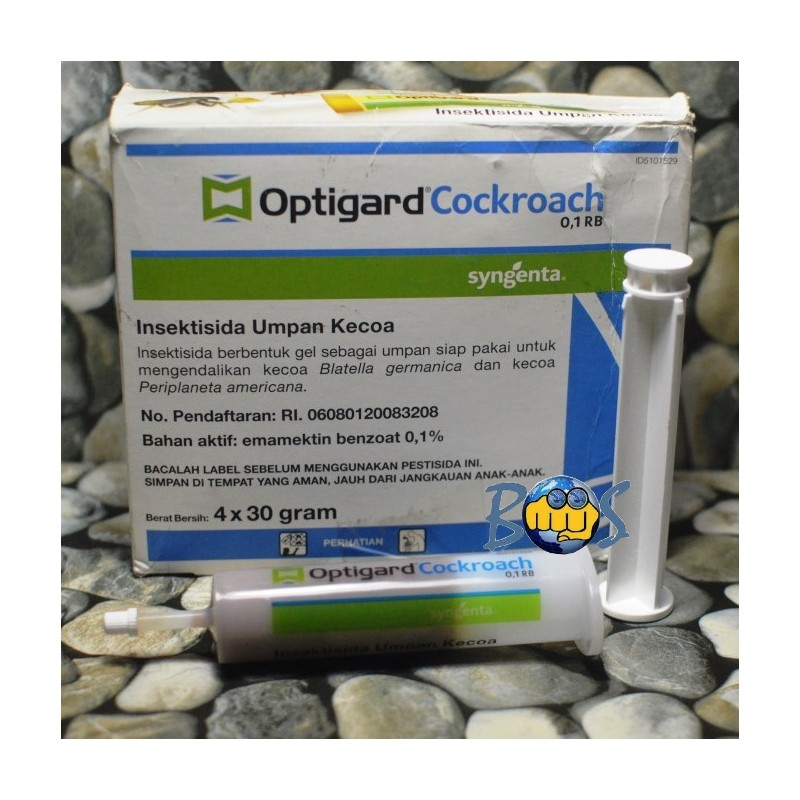 Optigard Cockroach Gel 0,1 RB